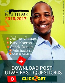 Download Post-UTME Past Questions and Answers