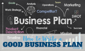 How to Write a Good Business Plan - Sample, Template, Examples, Proposal, Format