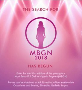 Most Beautiful Girl in Nigeria MBGN 2019/2020 Registration Form, Audition, Criteria, Contestants, Date, Website