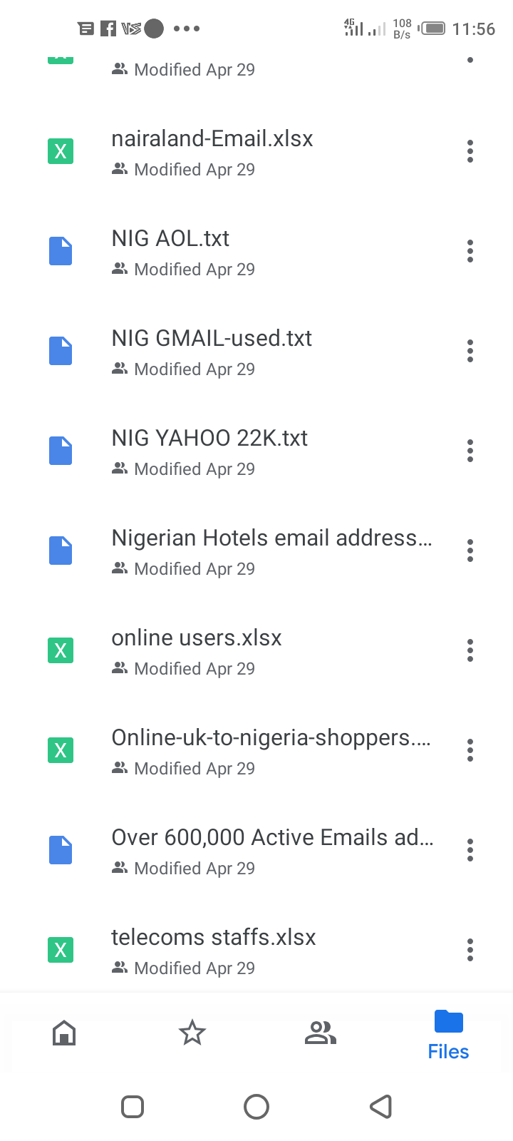 Free Nigerian Email Database Download For 2020 and 2021