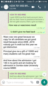 Proofs and testimonies In 2019 WAEC May/June Of Our Candidates Results So Far